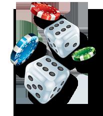 tärningar för casino bonus