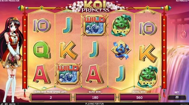 Koi princess casino bonus
