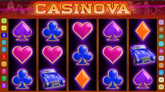 casinova casino bonus